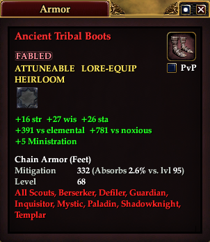 Ancient Tribal Boots (Version 1)