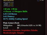 Archon's Plate Boots (Level 80)