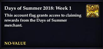 Days of Summer: 2018