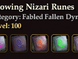 Glowing Nizari Runes