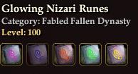 Glowing Nizari Runes