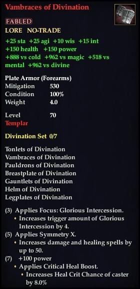 Vambraces of Divination (Version 1)
