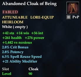 Abandoned Cloak of Being