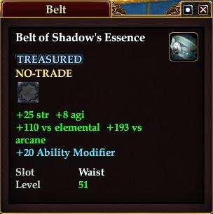 Belt of Shadow's Essence