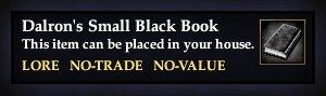 Dalron's Small Black Book