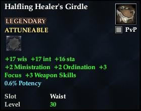 Halfling Healer's Girdle