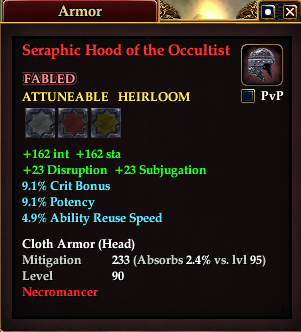Seraphic Hood of the Occultist
