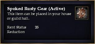 Spoked Rusty Gear (Active)