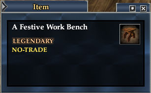 Festive Workbench