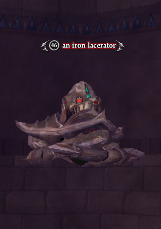 An iron lacerator