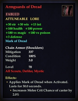 Armguards of Dread