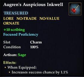 Augren's Auspicious Inkwell
