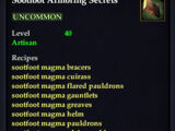 Sootfoot Armoring Secrets (Recipe Book)