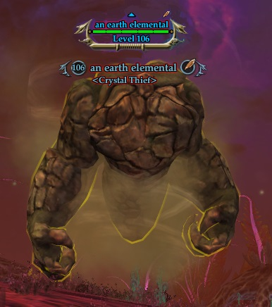 An earth elemental