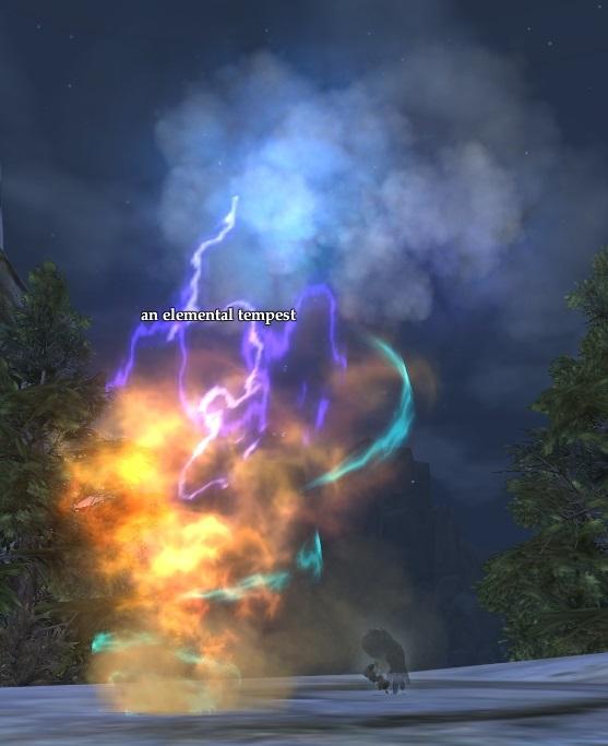 An elemental tempest