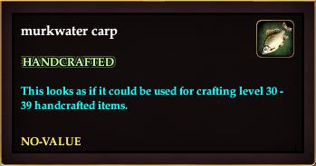 Murkwater carp