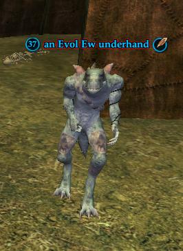 An Evol Ew underhand