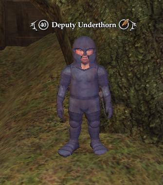 Deputy Underthorn