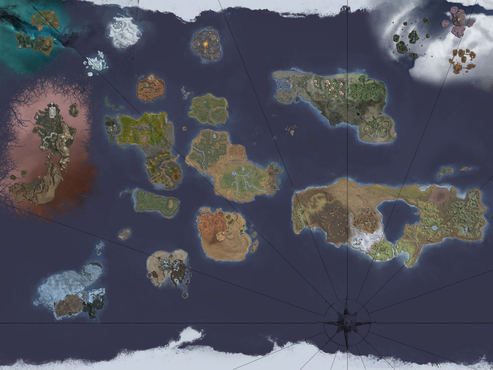 Shattered Lands Seas