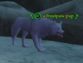 A Frostpaw pup