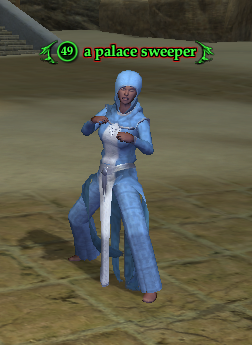 A palace sweeper (Blades)