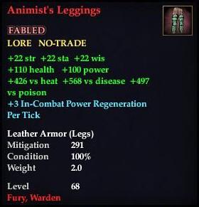 Animist's Leggings