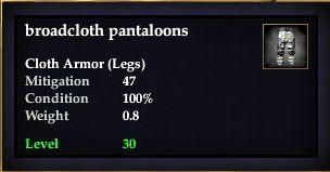 Broadcloth pantaloons (Version 1)