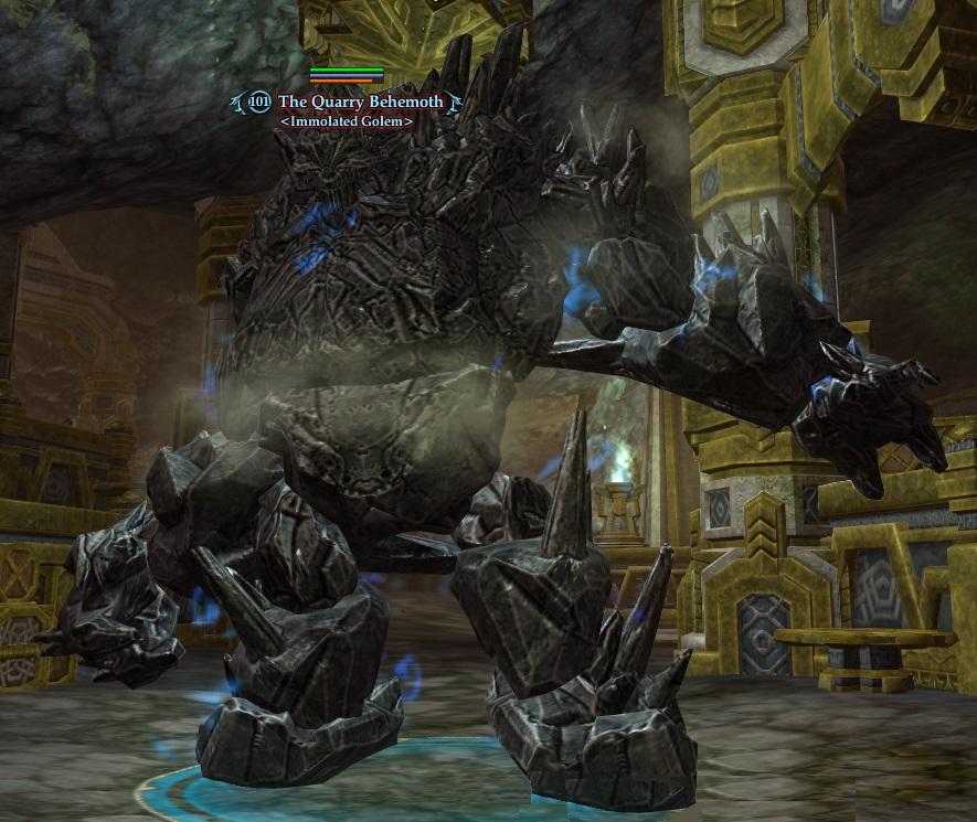 The Quarry Behemoth (District of Ash Solo)