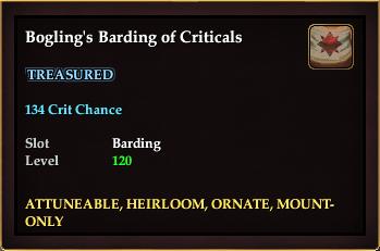 Bogling's Barding of Criticals