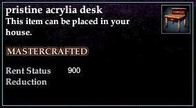 Acrylia Desk