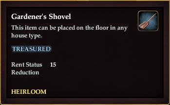 Gardener's Shovel