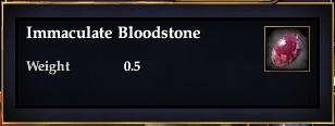 Immaculate Bloodstone