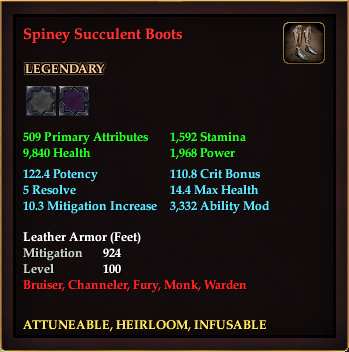 Spiney Succulent Boots