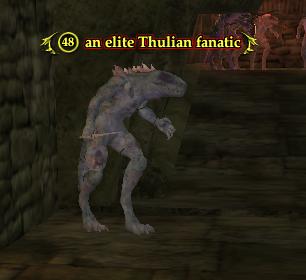 An elite Thulian fanatic