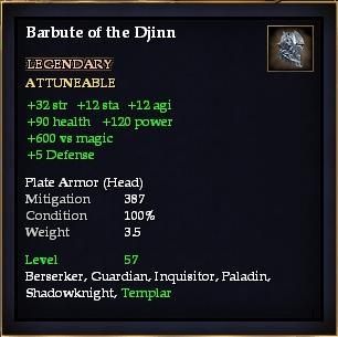 Barbute of the Djinn