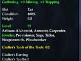 Crafter's Earring