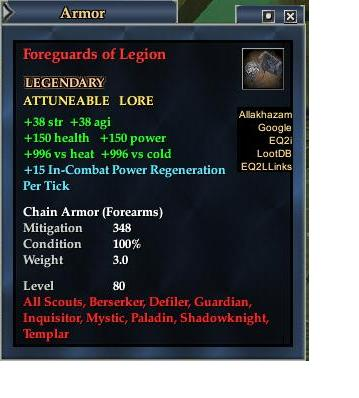 Foreguards of Legion (Version 1)