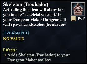 Skeleton (Troubador)