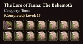 The Lore of Fauna: The Behemoth (Collection)