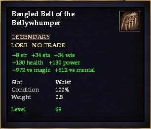 Bangled Belt of the Bellywhumper