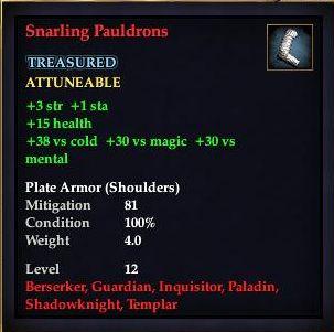 Snarling Pauldrons