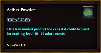 Aether Powder