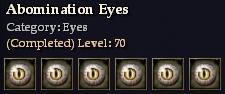 Abomination Eyes