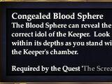 Congealed Blood Sphere