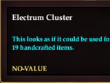 Electrum cluster