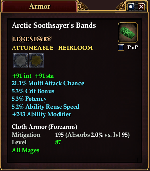 Arctic Soothsayer's Bands