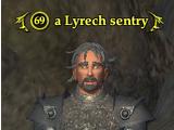 A Lyrech sentry