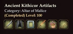 Ancient Kithicor Artifacts