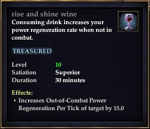 Rise and shine wine
