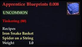 Apprentice Blueprints 0.008